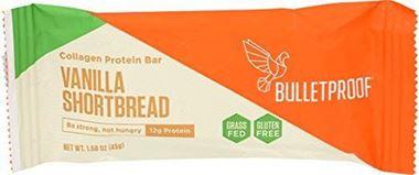 Picture of Bulletproof Vanilla Shortbread Collagen Protein Bar, 1.58 oz