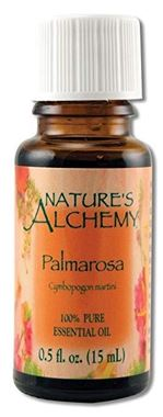 Picture of Nature's Alchemy Palmarosa Essential Oil, 0.5 fl oz