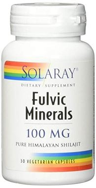 Picture of Solaray Fulvic Minerals, 100 mg, 30 vcaps