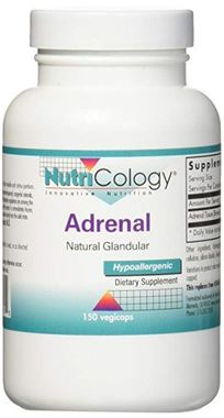 Picture of NutriCology Adrenal, 150 vegicaps