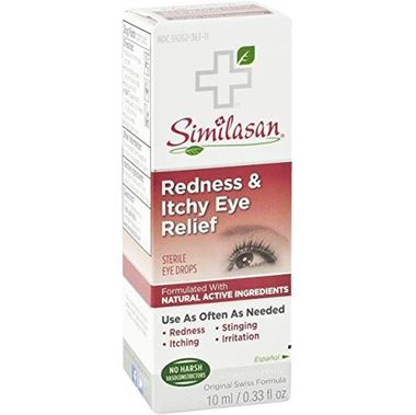 Picture of Similasan Redness & Itchy Eye Relief, 0.33 fl oz