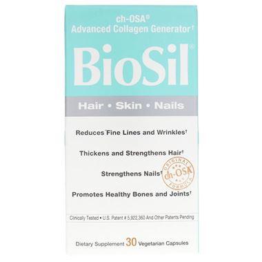 Picture of Natural Factors Biosil, 30 vcaps