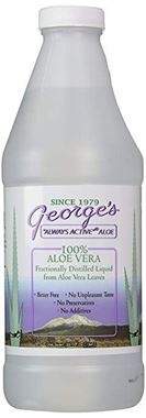 Picture of George's 100% Aloe Vera Liquid, 32 fl oz