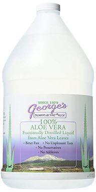 Picture of George's 100% Aloe Vera Liquid, 128 fl oz, 1 gallon