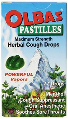 Picture of Olbas Pastilles Herbal Cough Drops, 27 drops