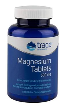 Picture of Trace Minerals Research Magnesium, 300 mg, 60 tabs