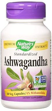 Picture of Nature's Way Ashwagandha, 60 vcaps