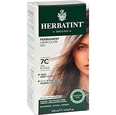 Picture of Herbatint Permanent Haircolor Gel, 7C Ash Blonde, 4.56 fl oz