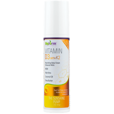 Picture of Sigform Vitamin D3 With K2, 3 oz