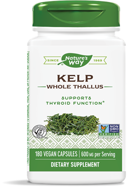 Picture of Nature's Way Kelp, 180 vcaps