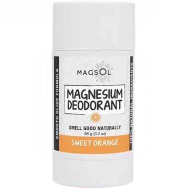 Picture of Magsol Magnesium Deodorant, Sweet Orange, 3.2 oz