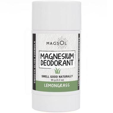 Picture of Magsol Magnesium Deodorant, Lemongrass, 3.2 oz