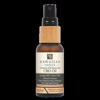 Picture of Hawaiian Choice CBD Oil Active, 750 mg, 1 oz