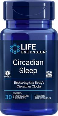 Picture of Life Extension Circadian Sleep, 30 liquid vcaps