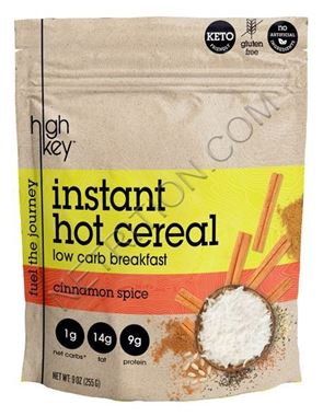 Picture of High Key Instant Hot Cereal, Cinnamon Spice, 9 oz
