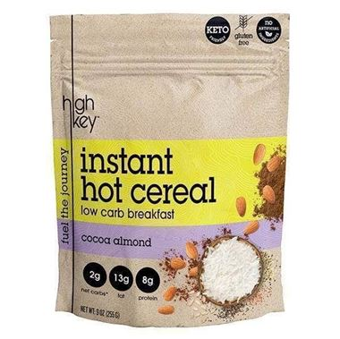 Picture of High Key Instant Hot Cereal, Cocoa Almond, 9 oz