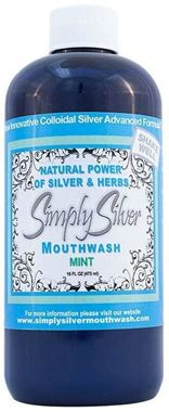 Picture of Simply Silver Mouthwash, Mint, 16 oz