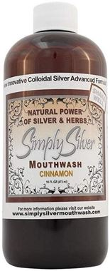 Picture of Simply Silver Mouthwash, Cinnamon, 16 oz