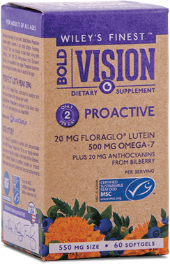 Picture of Wiley's Finest Bold Vision Proactive, 60 softgels
