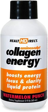 Picture of Health Direct AminoSculpt Collagen Energy, Watermelon Punch, 2 fl oz