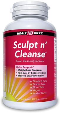 Picture of Health Direct Sculpt n' Cleanse, 100 vcaps