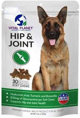 Picture of Vital Planet Hip & Joint for Dogs, 30 soft chews