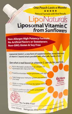 Picture of Lipo Naturals Liposomal Vitamin C  from Sunflowers, 15oz Liquid