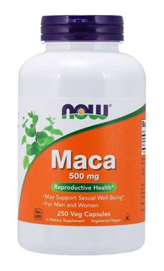 Picture of NOW Maca, 500 mg, 250 vcaps