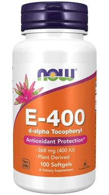 Picture of NOW E-400, 100 softgels