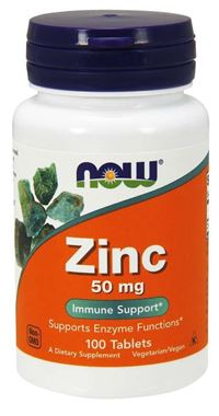 Picture of NOW Zinc, 50 mg, 100 tabs