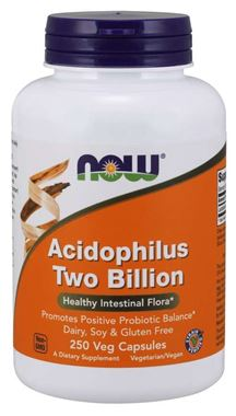 Picture of NOW Acidophilus Two Billion, 250 vcaps