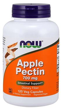 Picture of NOW Apple Pectin, 700 mg, 120 vcaps