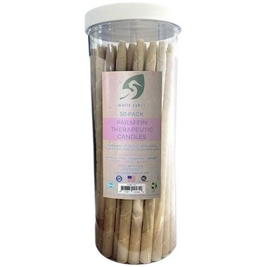 Picture of White Egret Paraffin  Therapeutic Ear Candles, 1 count