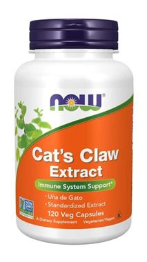 Picture of NOW Cat's Claw Extract, 120 vcaps