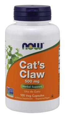 Picture of NOW Cat's Claw, 500 mg, 100 vcaps