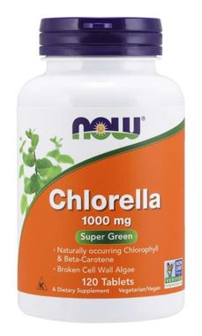 Picture of NOW Chlorella,  1000 mg, 120 tabs