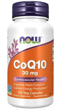Picture of NOW CoQ10, 30 mg, 120 vcaps