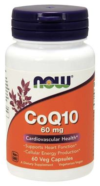 Picture of NOW CoQ10, 60 mg, 60 vcaps