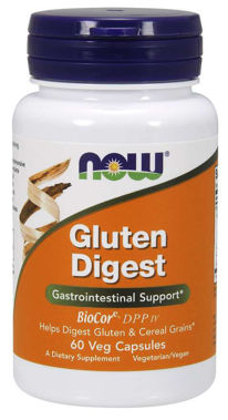 Picture of NOW Gluten Digest, 60 vcaps