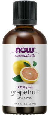 Picture of NOW 100% Pure Grapefruit Oil, 4 fl oz