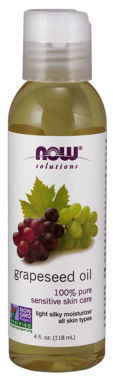 Picture of NOW Grapeseed Oil, 4 fl oz