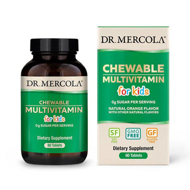 Picture of Dr. Mercola Chewable Multivitamin for Kids, 60 tabs